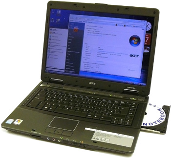 I/P: Notebook Acer Extenza 5220