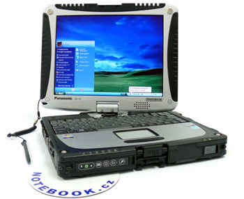 Panasonic TOUGHBOOK CF-19 - na cesty kamkoli