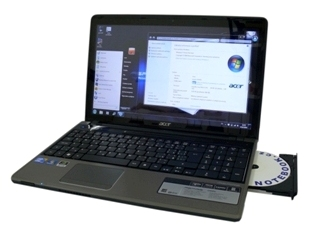Acer Aspire 5745P - multimédia dotykem
