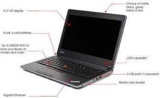 Odhaleny notebooky Lenovo ThinkPad Edge a X100e