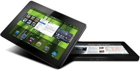 BlackBerry PlayBook cracknut