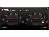 msi Silent Option