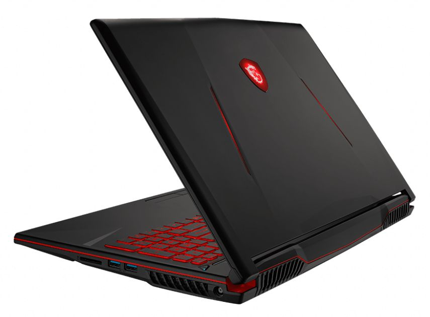 notebook MSI GL63 9SD - pravý bok
