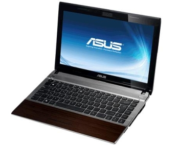 Asus U33Jc - bamboo look s USB 3.0