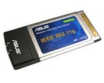 Asus WL-107g - PCMCIA WiFi i AccesPoint pro notebooky