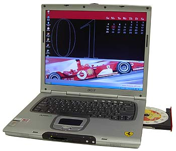Acer Ferrari 3000 Notebook Windows 7