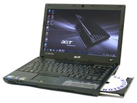 notebook Acer Travel Mate 8372