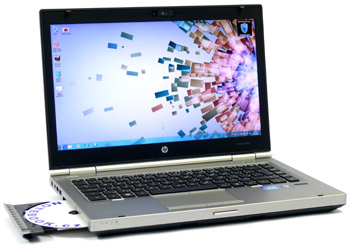 HP EliteBook 8460p - business v hliníku