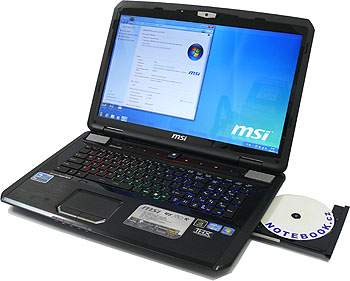 d0421b0e226 MSI GX780R - multimediální DTR bez kompromisů - Recenze - NOTEBOOK.cz