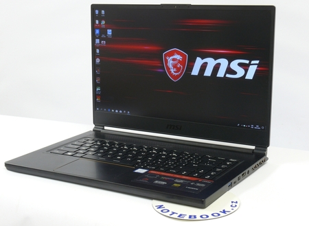 ded376d26b MSI GS65 Stealth Thin - herní notebook