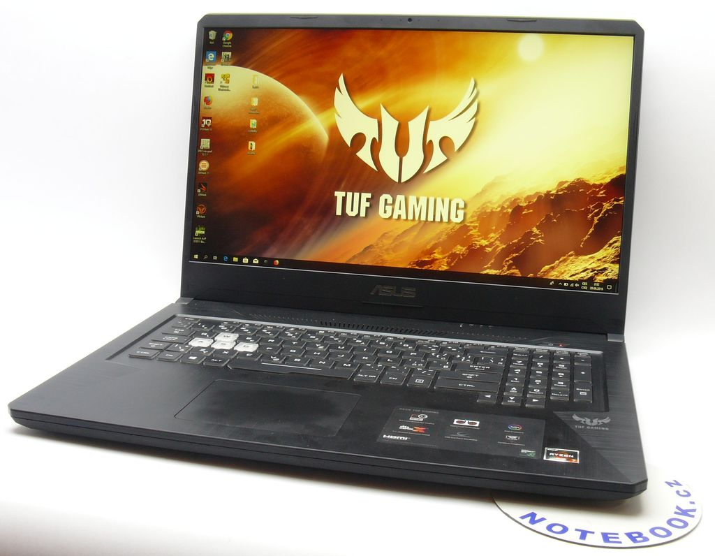 herní notebook Asus TUF Gaming FX705