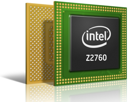 Intel Atom Z2760 - Clover Trail pro tablety s Windows 8