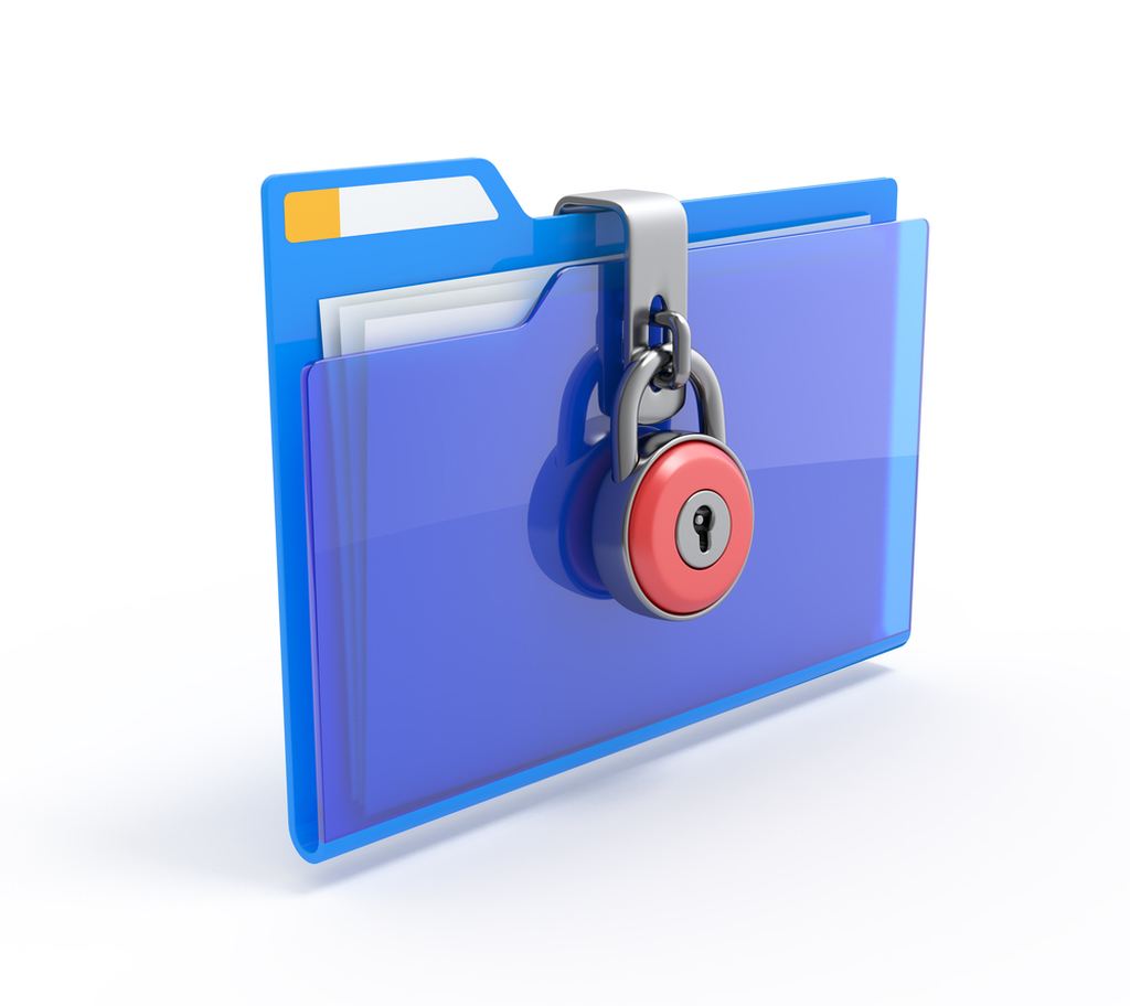 How to recover encrypted files in folder lock