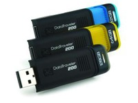 USB flash disky řady Kingston DT 200