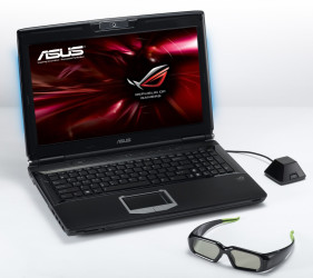 Notebook Asus G51JX s 3D z rodiny Republic of Gamers