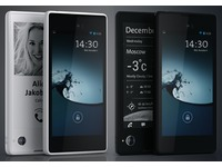 YotaPhone white black